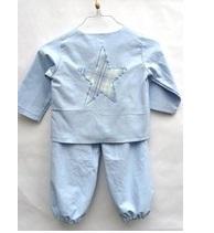 Pyjama en coton ancien