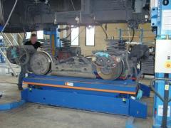 Table élévatrice électro-hydraulique de capacité 6