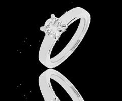 Bague solitaire diamant Orpaz, Bague 4 griffes - 0,84 carat