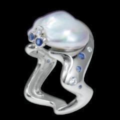 Bague Néo perle