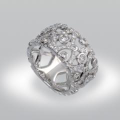 """Bague diamant """"Byzance"""""""