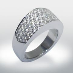 Bague diamants Remus