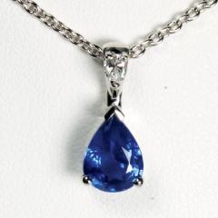 Pendentif saphir Azzurro
