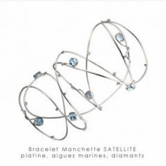Bracelet manchette Sattelite