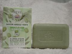 Savon olive-argile verte 150 g