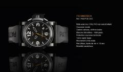 Montre P42 Immersion P42I-PVD-CAO