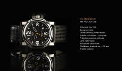 Montre P42 Immersion P42I-A-N-CAR