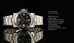 Montre P42 Immersion P42I-A-N-MET