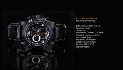 Montre P42 Chronographe P42C2- PVD-N-ALL