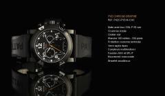 Montre P42 Chronographe P42C-PVD-N-CAO