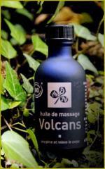 Huile de massage - flacon de 50 ml Volcans