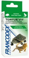 Vitamines pour reptiles et tortues : forme et