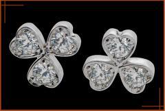 Boucles d'oreilles 3 Coeurs