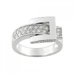 Bague or et diamant Or 750/1000 Empierré