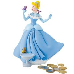 Tirelire Disney Cendrillon en Plastique