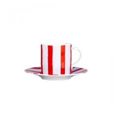 Paire tasse à café Marinière