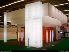 Système de cloison Lighted wall