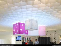 Le plafond en papier Honeycomb