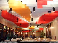 Système de faux-plafond Drop stripe