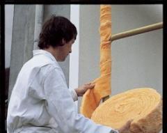 Bande souple en laine de verre