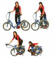 Tricycle pliant di blasi