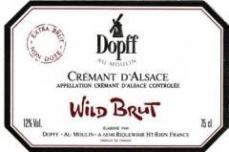 Cremant d`Alsace wild brut non dosé 65