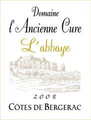 Vin Côtes de Bergerac rouge 2008 L'Abbaye