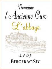 Viin Bergerac sec 2009 L'Abbaye