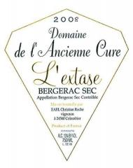 Vin Bergerac sec 2008 L'Extase
