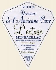 Vin Monbazillac 2003 L'EXtase