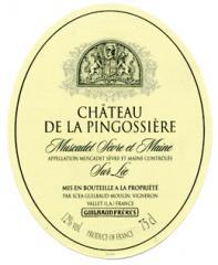 Vin Chateau de la pingossiere