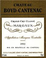 Vins Chateau Boyd-Cantenac