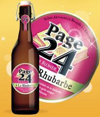 La bière Rhubarbe