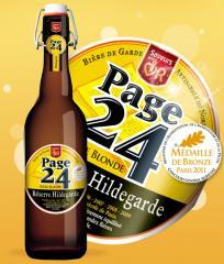 Bière Hildegarde blonde