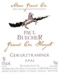 Vin grand cru Hengst Gewurztraminer 2006