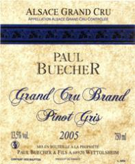 Vin grand cru Brand Pinot Gris 2005