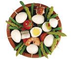 Les œufs cuits écalés