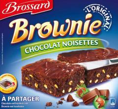 Family Brownie Chocolate and Hazelnuts