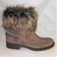 Boots au forrure