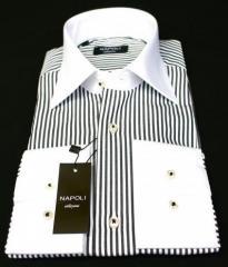 Chemise italienne d`homme de luxe slim