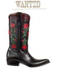 Botes montana en fleur rouge