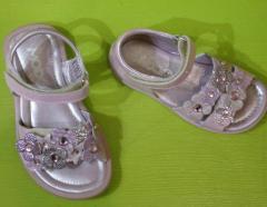Sandales pour enfant apaillette