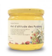Miel d'altitude (miel de rhododendron)