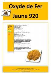 Oxyde de Fer Jaune 920 / CAS N° 1309-37-1