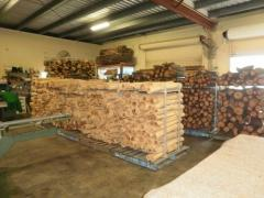 Wood Timber logs and Dry Firewood