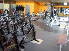 Coverage for fitness rooms