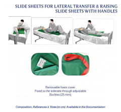 SLIDE SHEETS FOR LATERAL TRANSFER & RAISING