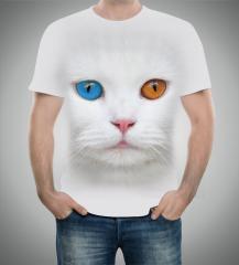T-Shirt 3D Chat de Van