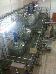 Ligne de production du lait