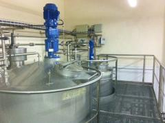 Ligne de production mayonnaise